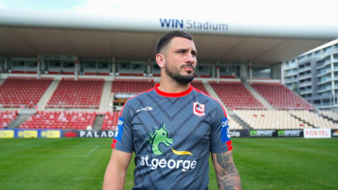 Jack Bird is back in St George Illawarra colours after leaving the club as a teenager to sign with Cronulla.