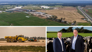 Developers face millions of dollars in levies for large projects on land next to Sydney's new airport at Badgerys Creek as desperate councils try to recover the vast cost of roads and infrastructure.