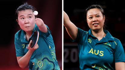 After a 37-year drought, Australia win two table tennis gold medals in an hour