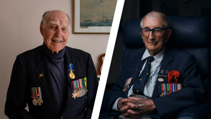 Come bombs, torpedoes or COVID-19, veterans honour the nation's fallen