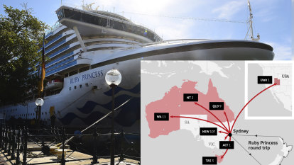 Aboard the Ruby Princess: how one cruise spawned a COVID-19 outbreak
