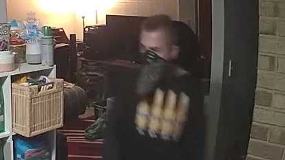 CCTV released in hunt for men over violent armed robberies south of Perth