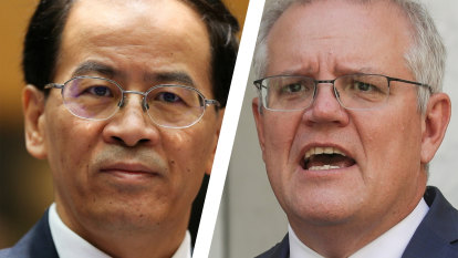 Chinese embassy accuses Australia of 'rage and roar' over tweet