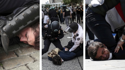 'Dangerous': Around the world, police chokeholds are being scrutinised