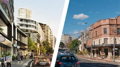 'We don't want a Chatswood': Critics attack plan for tall towers in Edgecliff