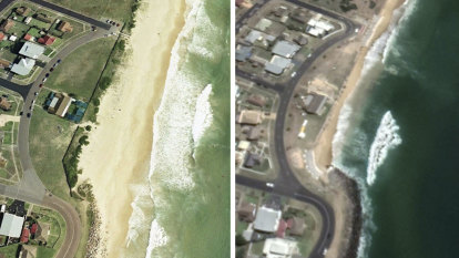 Thousands of kilometres of Australia's beaches at risk from rising seas