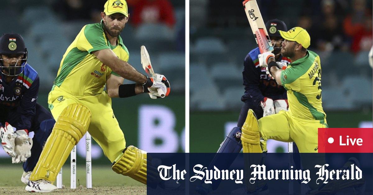 Australia v India first T20 international LIVE – The Sydney Morning Herald