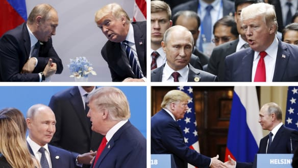 Trump has met Putin five times, but what was said is a mystery even to his own staff