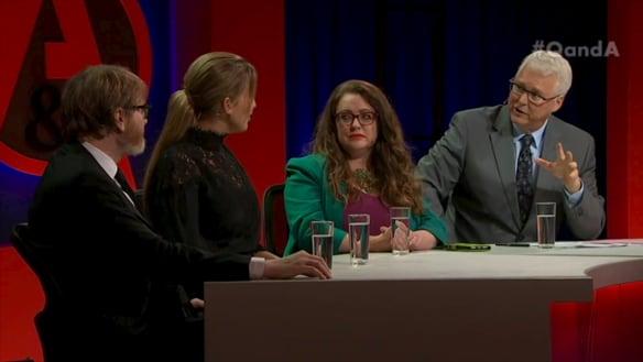 Q&A recap: Sex robots, sex clowns ... the best (or worst) hour of television