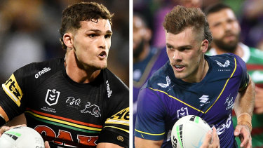 Ryan Papenhuyzen and Nathan Cleary.