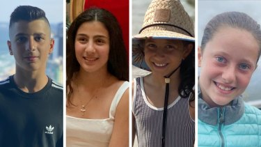 Antony, Angelina and Sienna Abdallah, and their cousin Veronique Sakr, were killed in the crash.