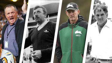 Tim Sheens, Warren Ryan, Wayne Bennett, Jack Gibson composite for online.