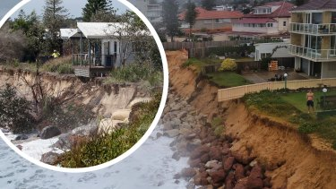 Beach erosion is a significant issue for towns up and down the NSW coastline.