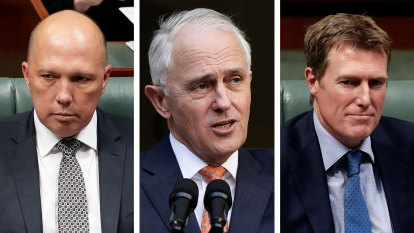 'The proposition is nonsense': Turnbull hits back at Christian Porter in leadership row