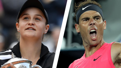 Barty and Nadal will have to wait for their date with Paris