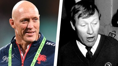 From Sharks ball boy to head coach: The rise of Craig Fitzgibbon