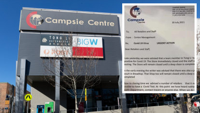 Two-day delay between NSW Health alert and Campsie Centre's COVID-19 warning