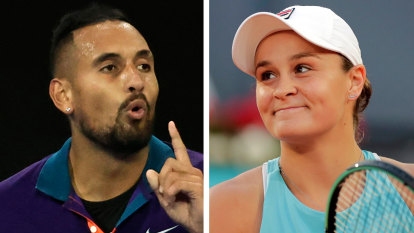 Kyrgios, Barty on track for Olympics tilt after Nadal withdraws