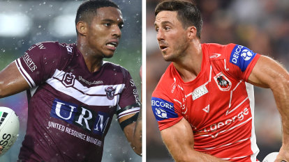 NRL 2021 LIVE updates: St George Illawarra Dragons take on Manly Sea Eagles; South Sydney Rabbitohs meet Sydney Roosters in round three