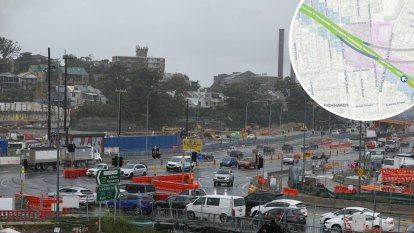 Blast plans dumped for final stretch of WestConnex construction