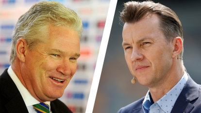 'It's a real tough day': Brett Lee returns to TV hours after trying to save Dean Jones