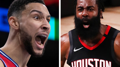 Simmons staying put after Harden heads for Nets