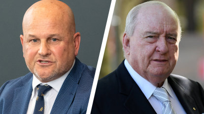 'Bitter and twisted': Outgoing RA boss slams 'vitriolic' Alan Jones