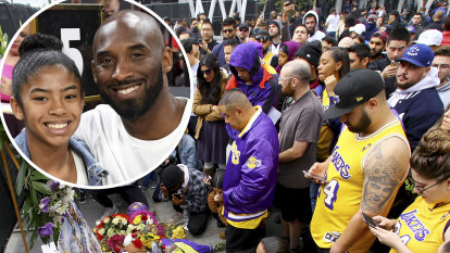 Kobe Bryant talked about love of daughter at Melbourne event