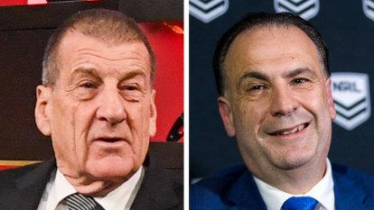 'Peter is an absolute irrelevance': Kennett fires back at V'landys after AFL dig