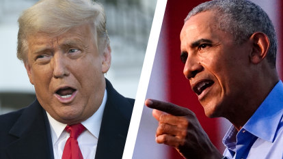 'He messed it up': Obama enters campaign with brutal Trump slap down