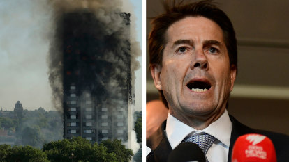 'Glacial progress': Minister under fire over flammable cladding crisis