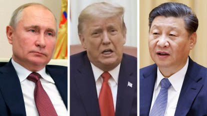 Global threat from three strongmen