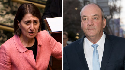 Boo! Berejiklian's bad luck with men is a scary affair