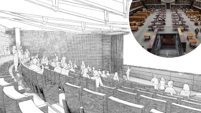 'A very prestigious location': 350-seat auditorium to go under State Library reading room