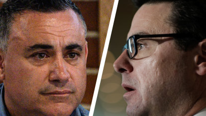 Barilaro hits out at federal threat to take over river planning