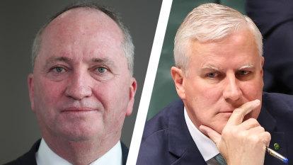 Nationals split on net zero as McCormack backs Morrison's 'preference'