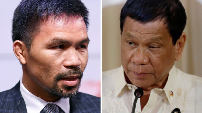 Boxing superstar Manny Pacquiao announces run for Philippines president