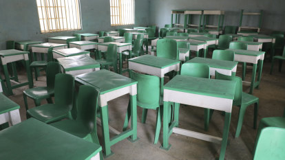 Kidnappers release Nigerian schoolboys as search for 300 abducted girls continues