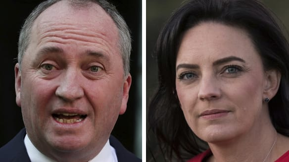 'Disgraceful': Barnaby Joyce reaches across the aisle to support Emma Husar