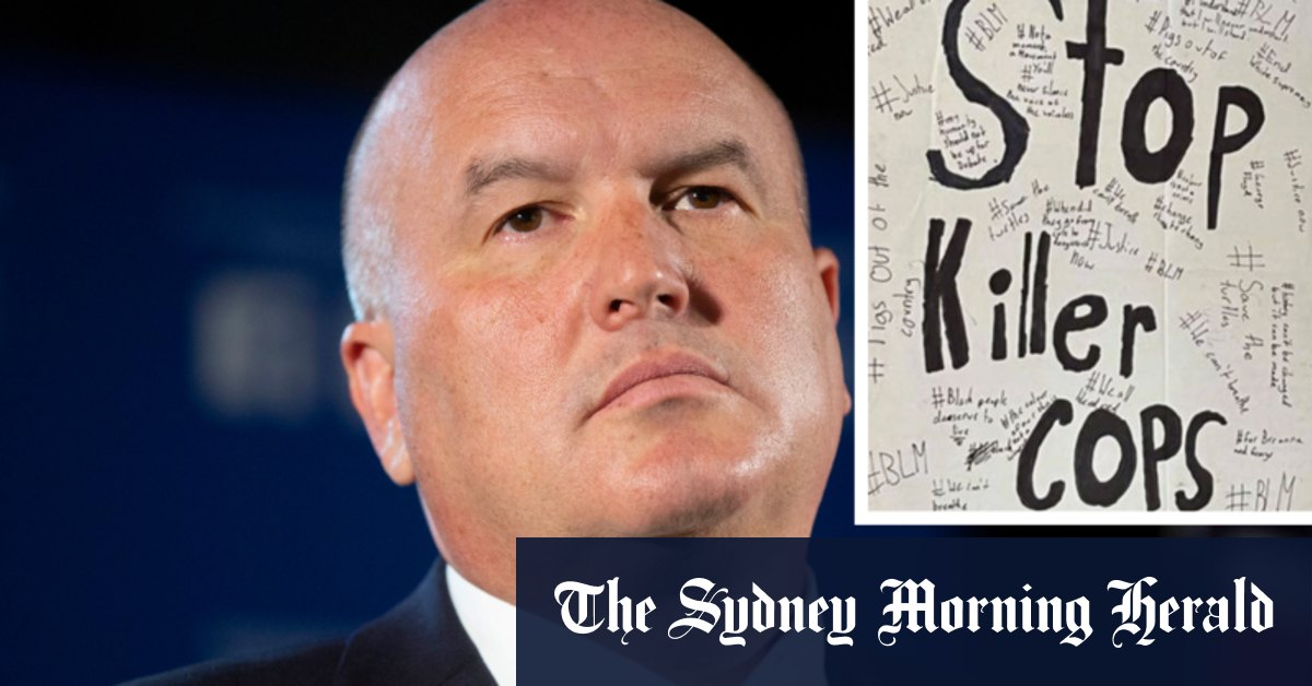 Police Minister calls for teacher to be sacked over BLM posters – Sydney Morning Herald