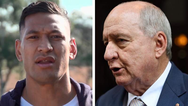 Alan Jones tells Israel Folau it's time to 'button up' over bushfire comments