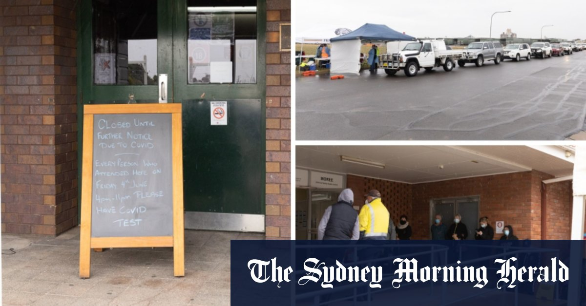 'Real and present danger': Great frustration as locals rush for tests in ice-cold conditions – Sydney Morning Herald