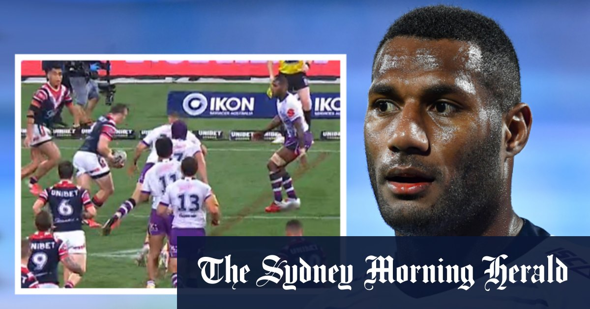 Storm set to be fined for fielding 14 players during win over Roosters – Sydney Morning Herald
