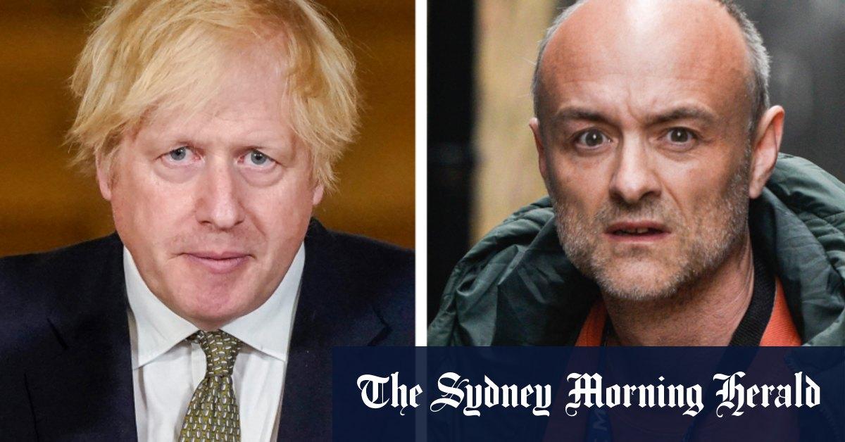 'Totally f—ing hopeless:' Dominic Cummings leaks Boris Johnson's bombshell text messages – Sydney Morning Herald