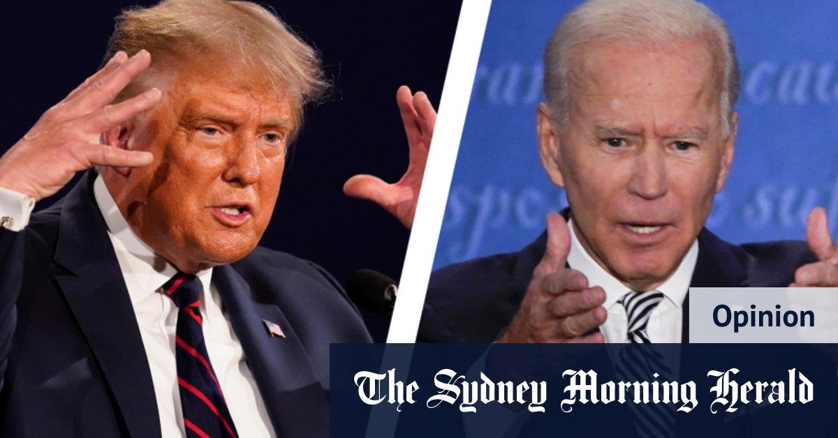 Us Presidential Debate How Trump Vs Biden Muddled Hope For America