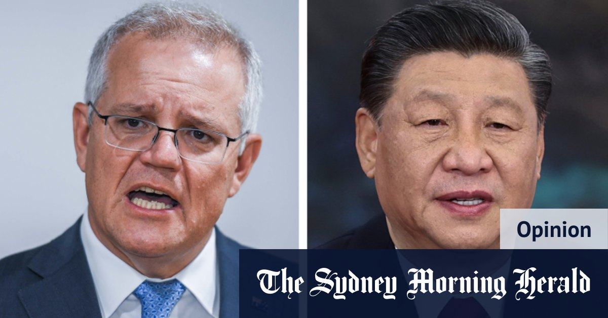 Between East and West, Australia is no longer the misfit. That would be China