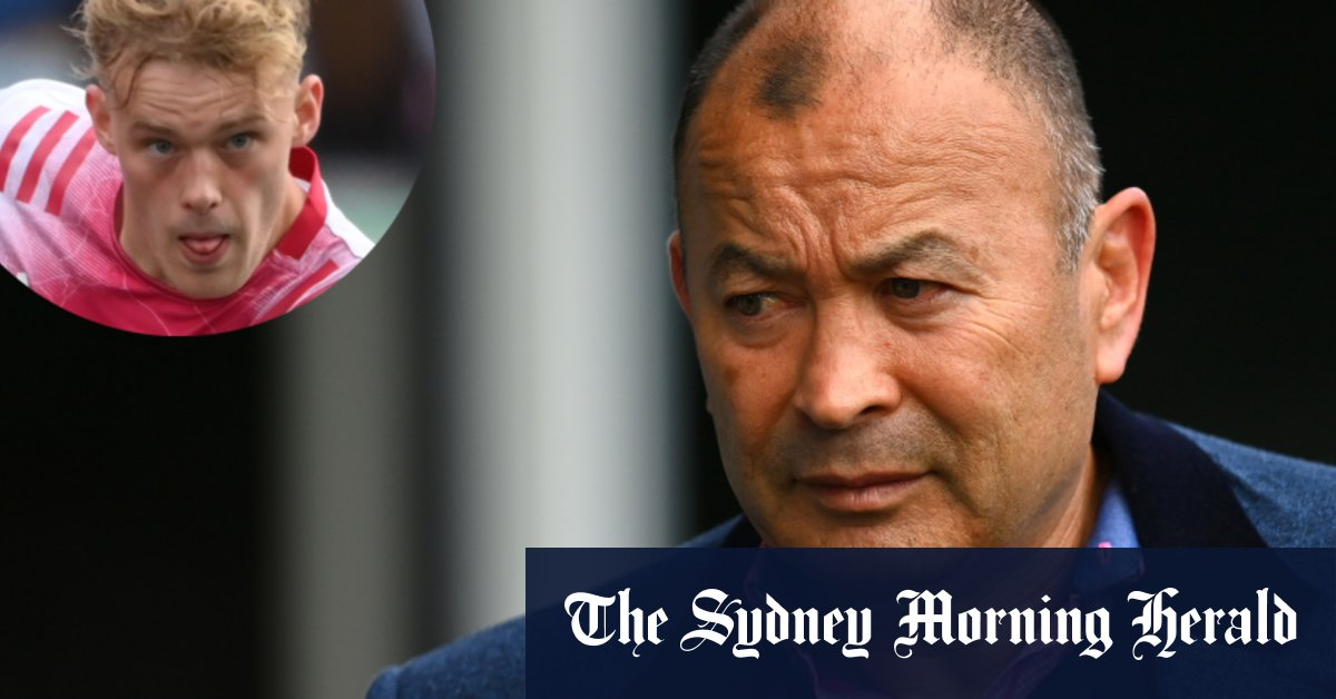 Son of Wallabies legend picked for England as Jones prepares to call time – Sydney Morning Herald