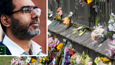 Video footage of the shootings showed Naeem Rashid trying to tackle the gunman before being shot.
