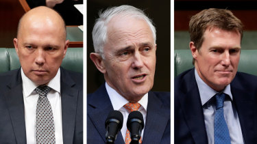 Peter Dutton's Parliament eligibility was the topic of argument between then-PM Malcolm Turnbull and Attorney-General Christian Porter.