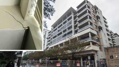 'Worse than previously assumed': Mascot Towers at risk of 'structural failure' as new cracks emerge
